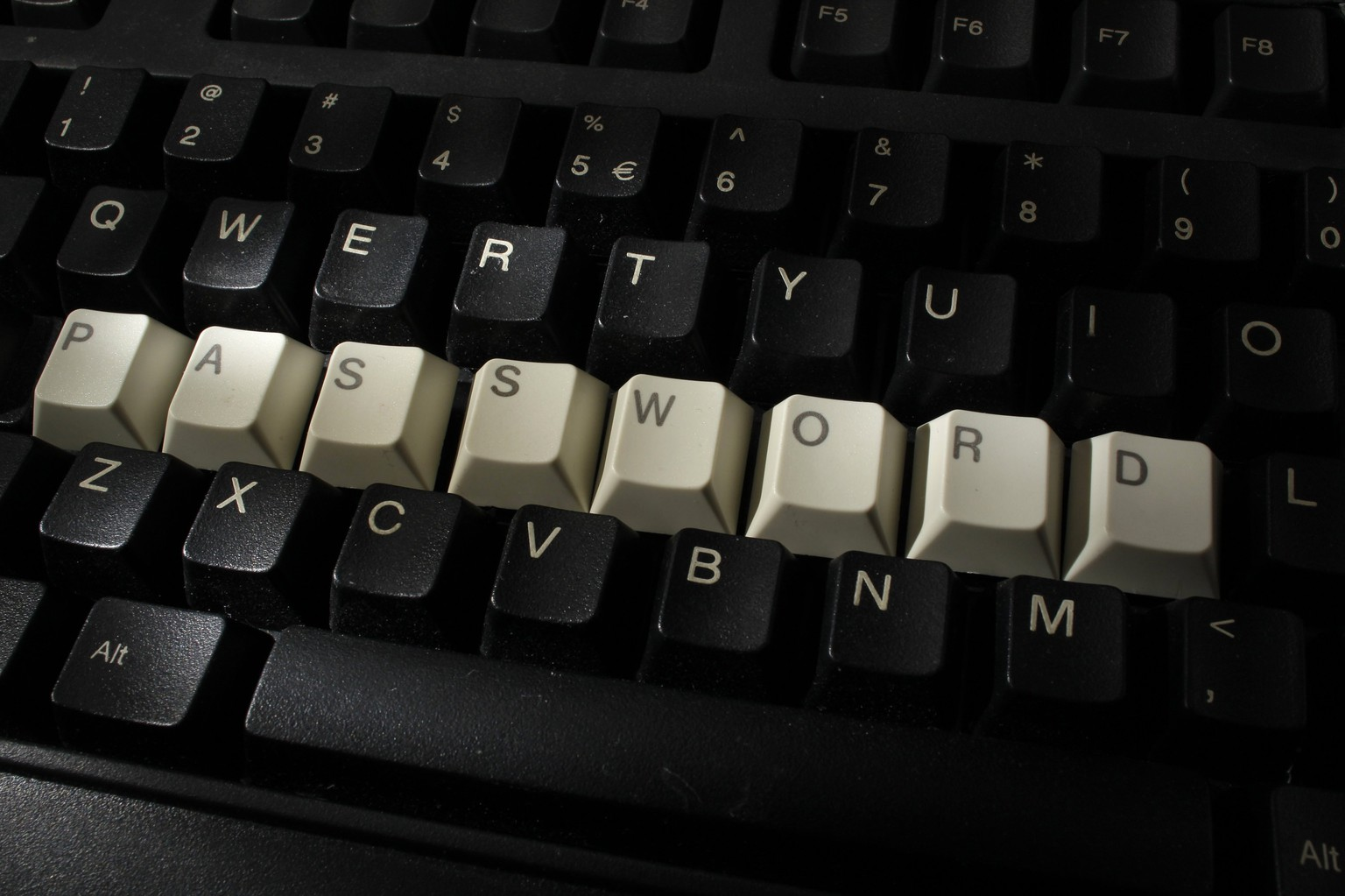 File illustration picture of computer keyboard with letters stacked forming the word 'password' taken in Warsaw, December 12, 2013.  Security experts warn there is little Internet users can do to protect themselves from the recently uncovered