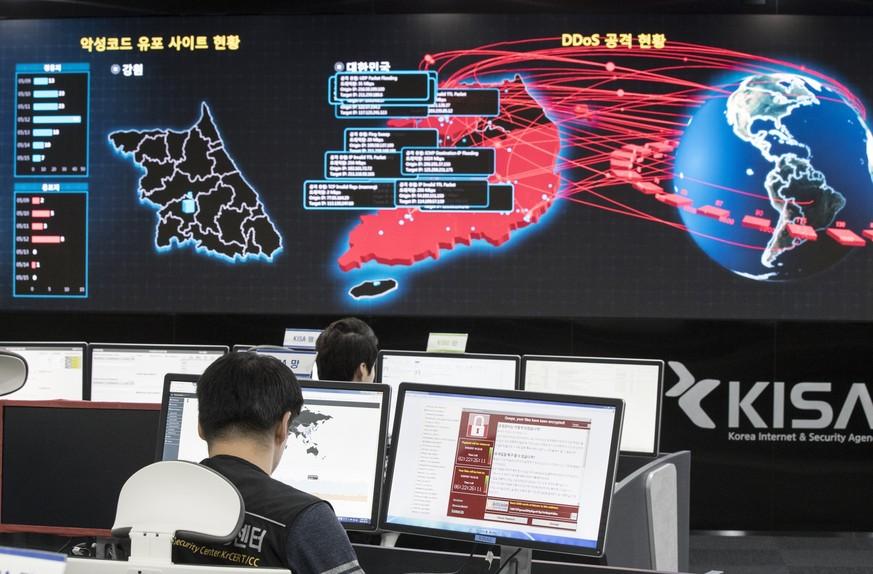 US-Regierung macht Nordkorea für Cyberattacke verantwortlich