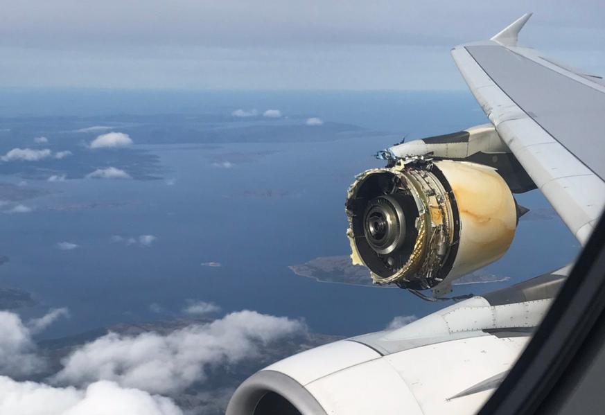 Triebwerksschaden: Französischer A380 in Kanada notgelandet