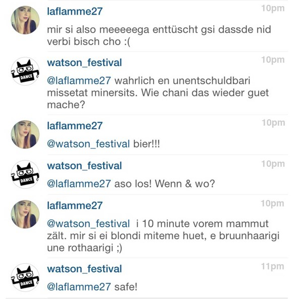 Gurtenfestival 2015: Chat mit laflamme