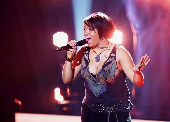 Camilla-Athina Moraïtinis aus La-Chaux-de-Fonds NE The Voice of Switzerland