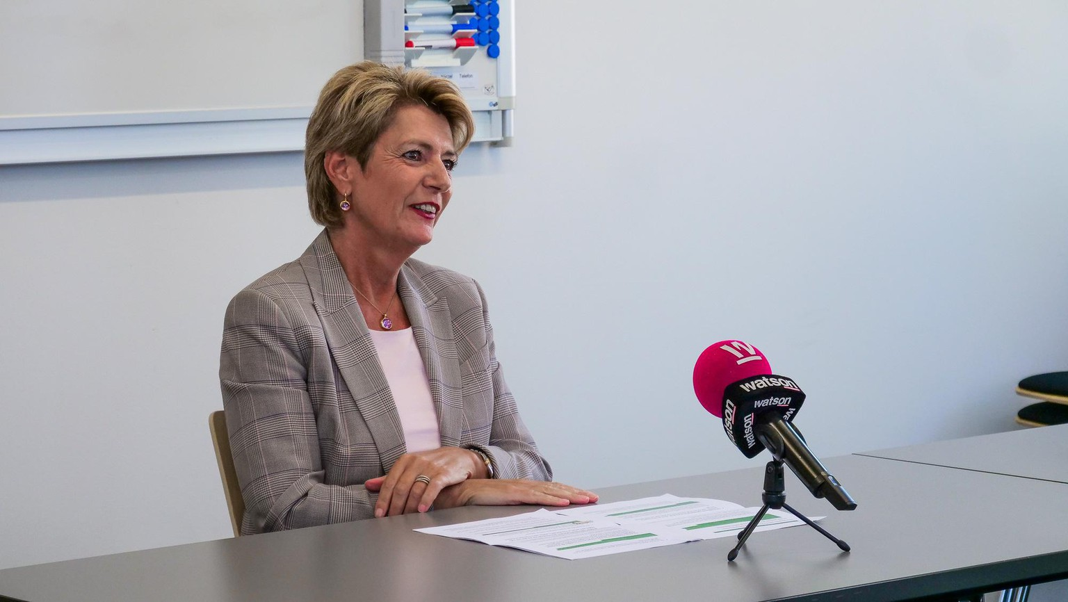 Karin Keller-Sutter im Interview am 4. September 2020