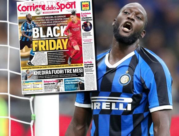 Lukaku zum «Black Friday»: «Die dümmste Schlagzeile, die ich je gesehen habe»