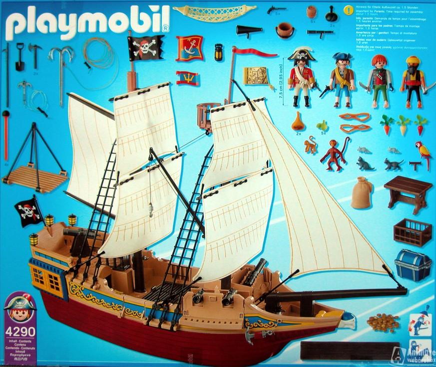 Schau hier dein weihnachts wunschzettel von damals watson for Barco pirata playmobil