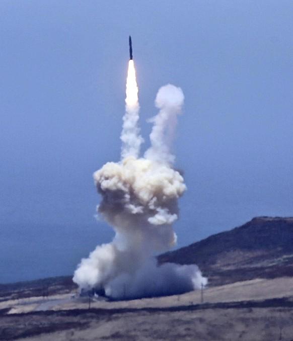 USA testen Abwehr von Interkontinentalrakete