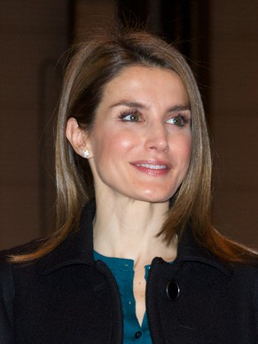 MADRID, SPAIN - JANUARY 22:  Princess Letizia of Spain attends