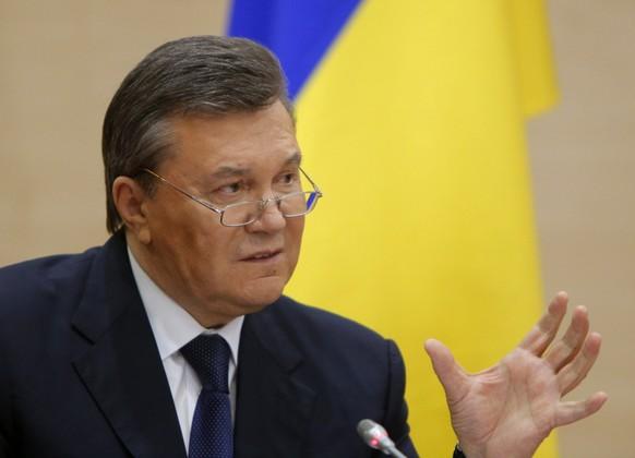 UKRAINE-CRISIS/YANUKOVICH