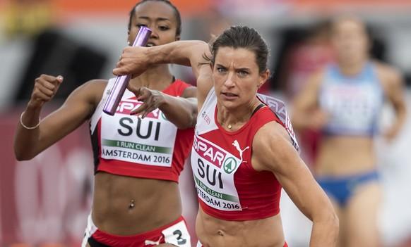 heißer verkauf authentisch Fabrik authentisch innovatives Design Schweizer Rekord! Frauen 100m-Staffel zieht in Amsterdam ...