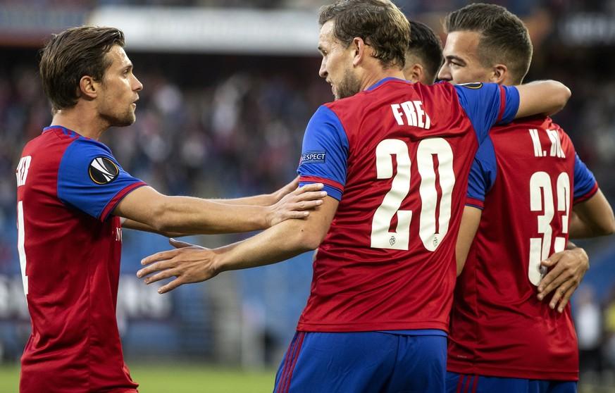 Europa League: Basel mit Kantersieg gegen Krasnodar, Lugano verliert