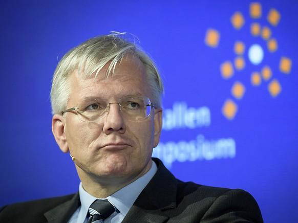 Christoph Franz, Verwaltungsratspräsident des Basler Pharmakonzerns Roche, nahm dieses Jahr auch am WEF teil (Archivbild).