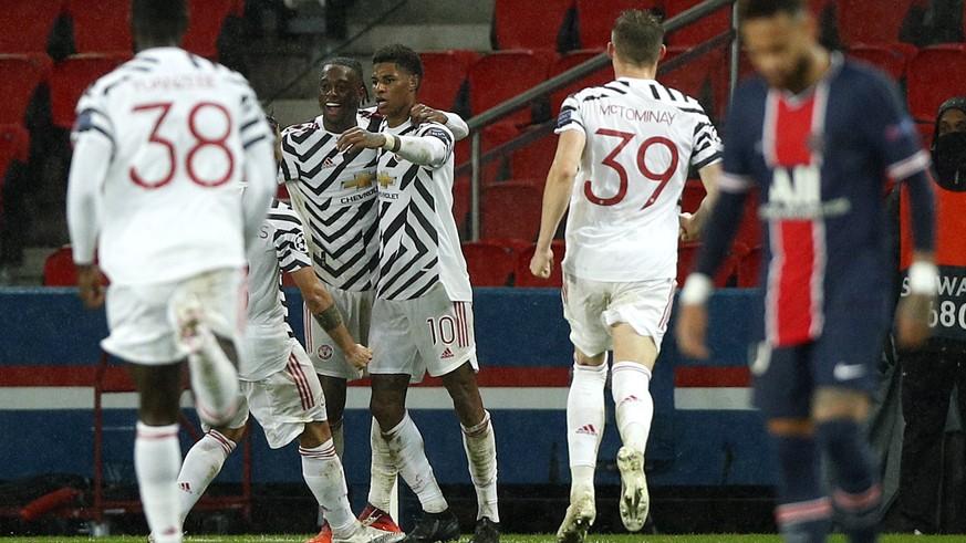 United siegt dank Rashford gegen PSG – Dortmund patzt – Juve gewinnt souverän