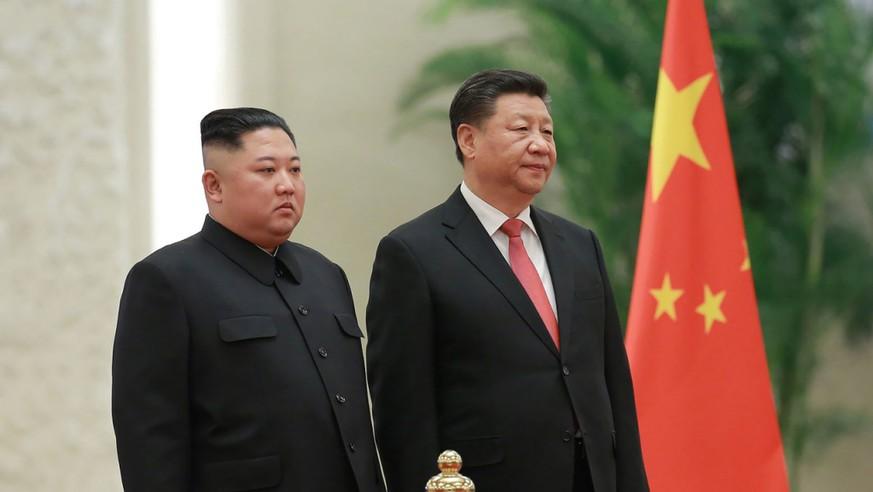 Chinas-Staatschef-beginnt-Gespr-chen-mit-Nordkoreas-Machthaber-Kim
