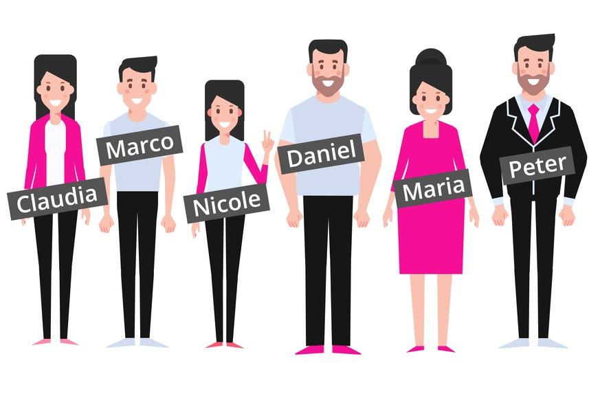 Das sind die häufigsten Vornamen in der Schweiz - watson