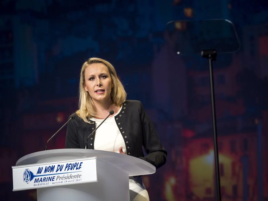 Marion Maréchal-Le Pen steigt aus