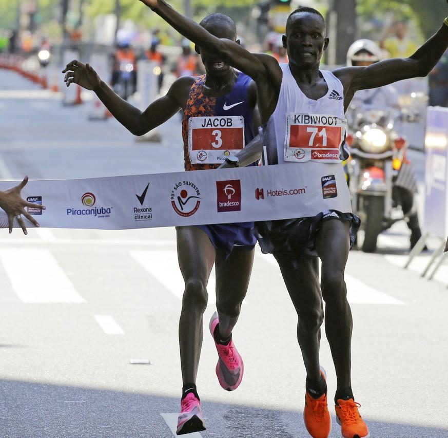 Kibiwott Kandie kennt die oberste Regel für jeden Sportler: Gib nie auf!