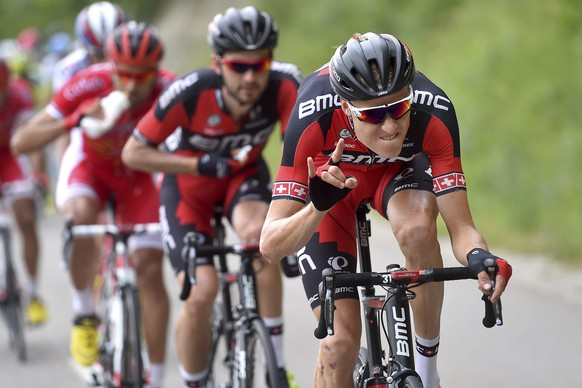 10.06.2015; Sisteron; Radsport - Criterium du Dauphine 2015 - 4. Etappe; Anneyron Ð Sisteron; Michael Schaer (SUI); (Tim De Waele/freshfocus)