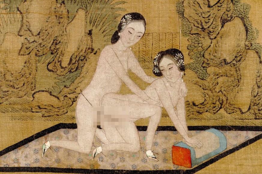 Появления гонца китайские эротика секс