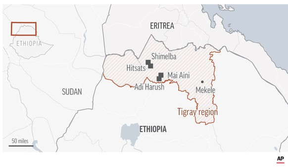 In der Region Tigray im Norden Äthiopiens ist im November 2020 ein Bürgerkrieg ausgebrochen: Die TPLF kämpft gegen Äthiopische Streitkräfte, Milizen der Region Amhara und Streitkräfte Eritreas.