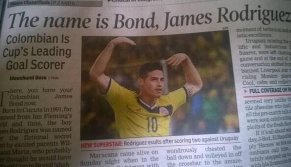 James Rodriguez Bond
