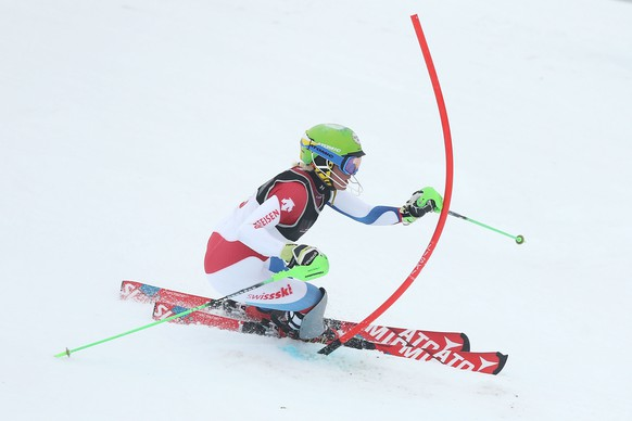 QUEENSTOWN, NEW ZEALAND - AUGUST 29:  Carole Bissig of Switzerland competes in the Alpine Slalom - FIS Australia New Zealand Cup during the Winter Games NZ at Coronet Peak on August 29, 2015 in Queenstown, New Zealand.  (Photo by Dianne Manson/Getty Images)