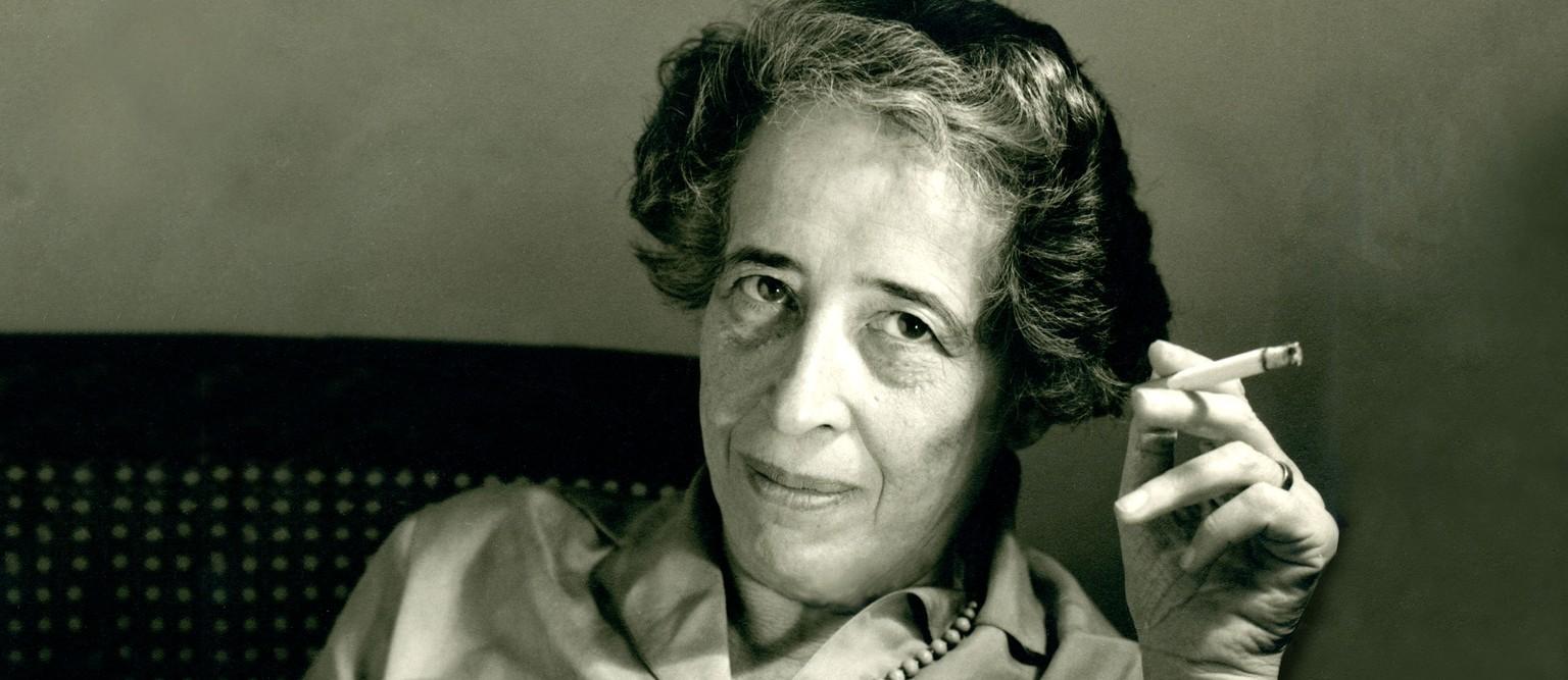 Wie Hannah Arendt Die Welt Vor Der Banalität Des Bösen