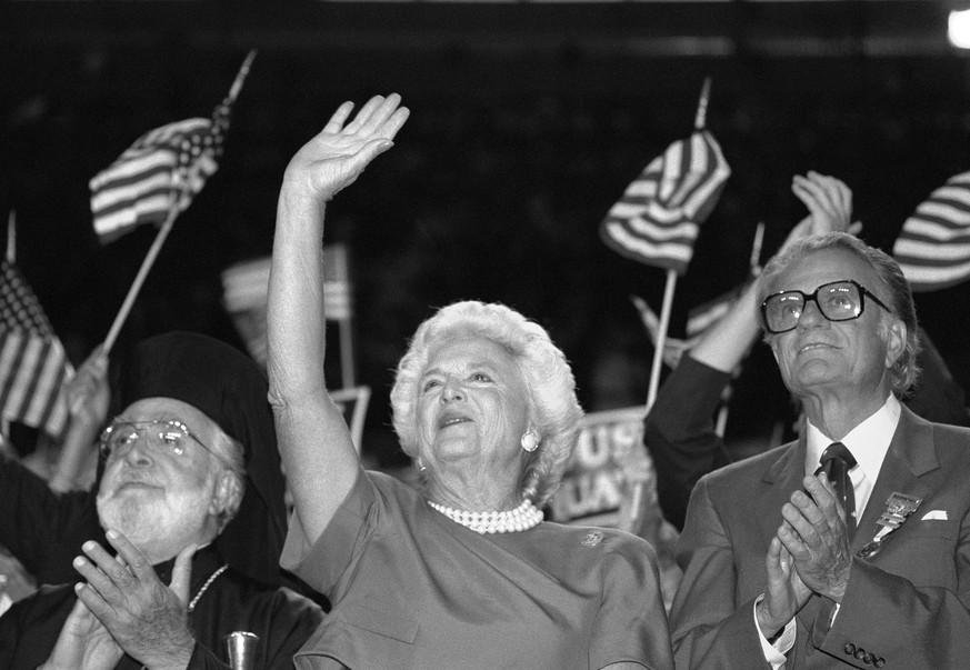 Ex-US-First Lady Barbara Bush gestorben
