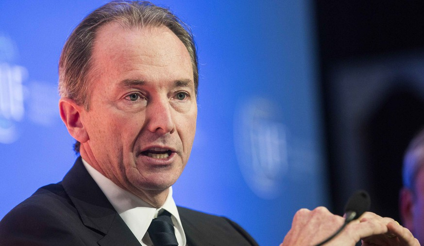 Morgan Stanley Chairman and Chief Executive James Gorman speaks during the Institute of International Finance Annual Meeting in Washington October 10, 2014. REUTERS/Joshua Roberts (UNITED STATES - Tags: BUSINESS)