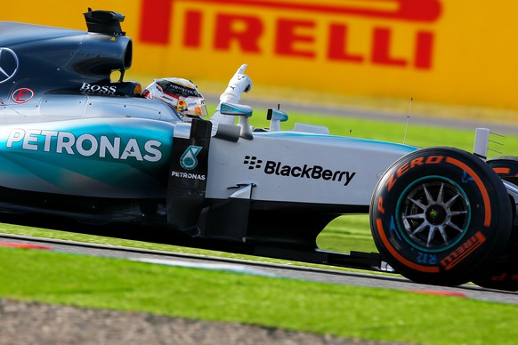 Suzuka, 27.09.2015 - Formel 1 Grand Prix von Japan 2015, Lewis Hamilton (GBR, Mercedes) - Foto: Sho Tamura/AFLO SPORT (EQ Images) SWITZERLAND ONLY