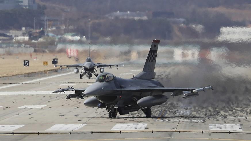 USA und Südkorea wollen Militärübungen wieder aufnehmen