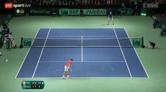 Spielstand Davis Cup Wawrinka