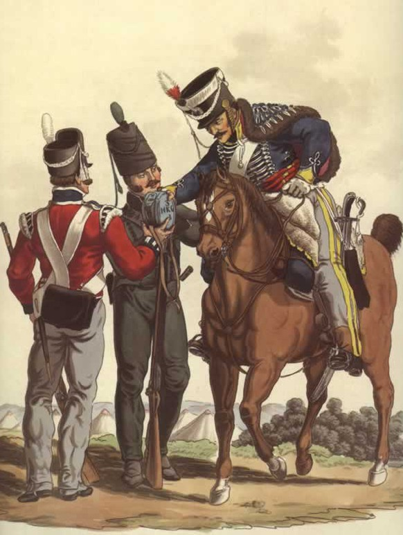 King's German Legion, Schlacht bei Waterloo