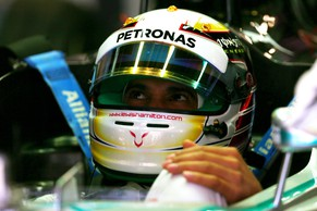 MONTMELO, SPAIN - MAY 09:  Lewis Hamilton of Great Britain and Mercedes GP sits in his car in the garage during practice ahead of the Spanish F1 Grand Prix at Circuit de Catalunya on May 9, 2014 in Montmelo, Spain.  (Photo by Paul Gilham/Getty Images)