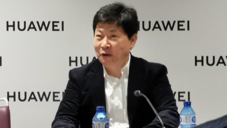 Huawei-Chef Richard Yu: «Wir machen mit jedem verkauften Falt-Handy Verlust»