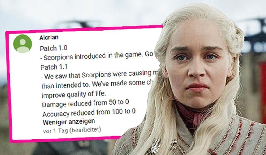 «Game of Thrones»: So lustig zerpflücken die Fans die 5. Folge der Serie