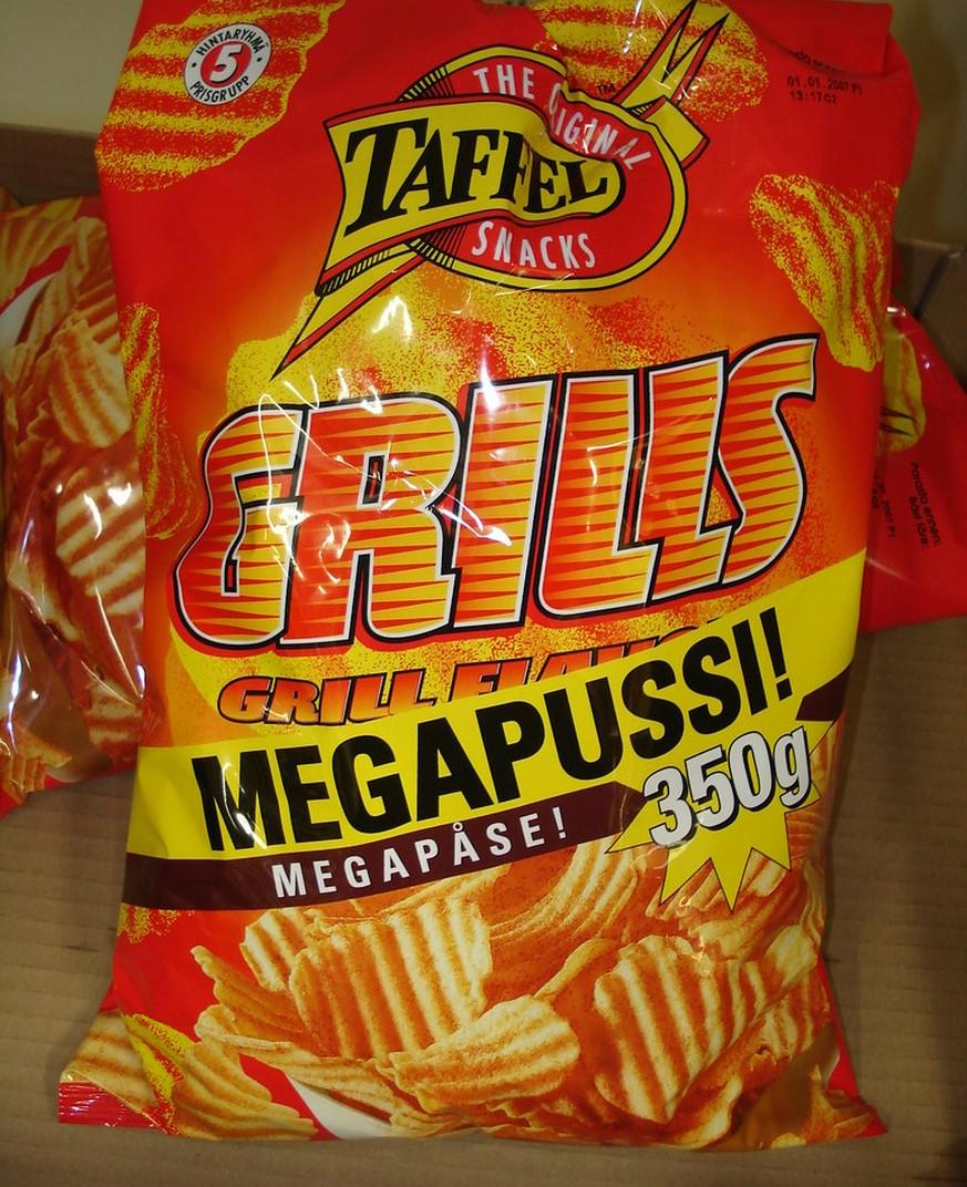 Die beliebtesten Chips-Geschmacksrichtungen nach Land