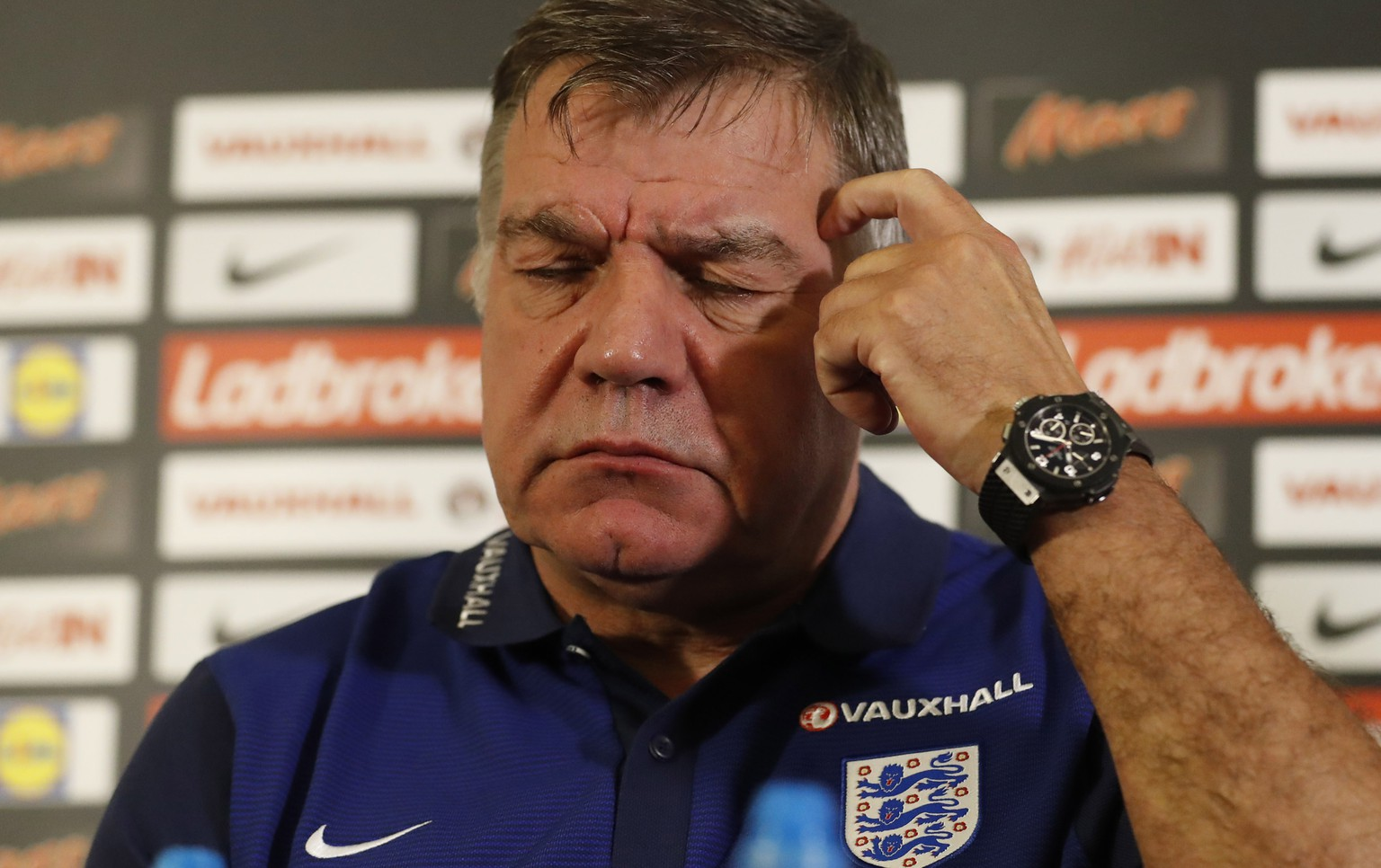 Britain Football Soccer - England - Sam Allardyce Press Conference - St. George's Park - 29/8/16