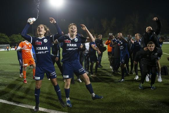 Oktober 2021: Etoile Carouge aus der Promotion League wirft in den Achtelfinals den FC Basel raus. Romain Kursner sorgt mit seinem Tor für den 1:0-Sieg.