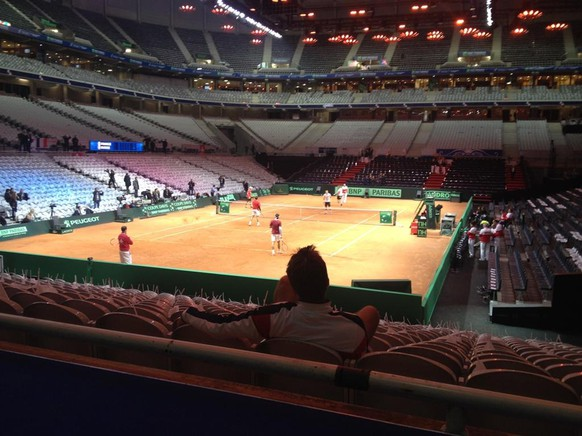 Arnaid Clément Davis Cup