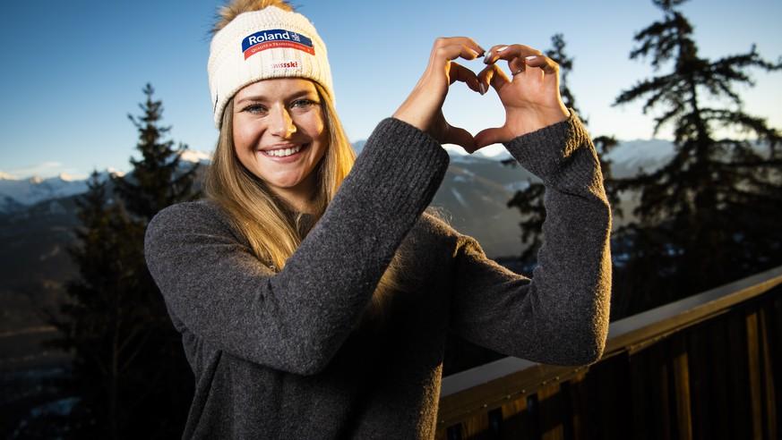 Die Lockerheit hart erarbeitet – Corinne Suter bietet sich eine einmalige Chance