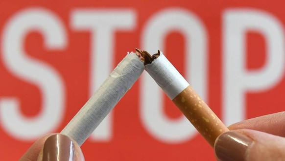 Nichtrauchen, Rauch-Stop