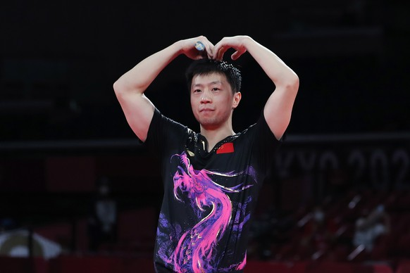 Was Mo Farah kann, kann Ma Long noch lange: Der Chinese wird wie 2016 Einzel-Olympiasieger im Tischtennis.