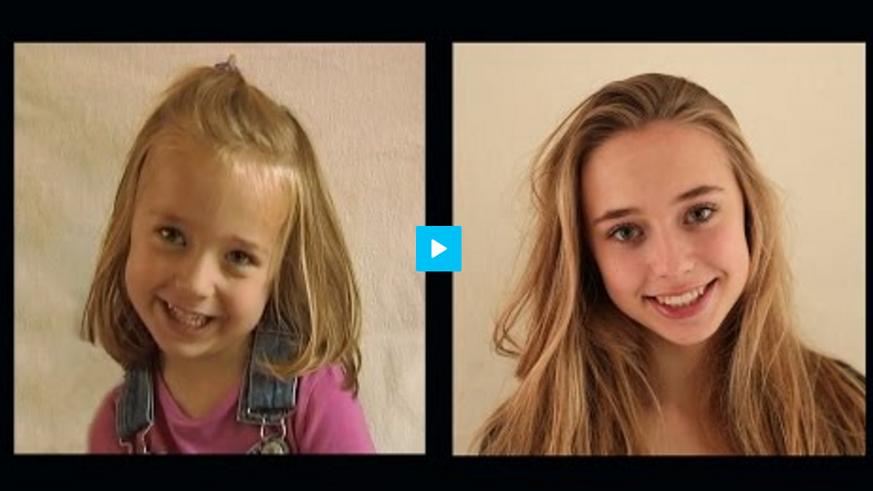 Zeitraffer: Vom Baby zur Jungen Frau in vier Minuten - watson