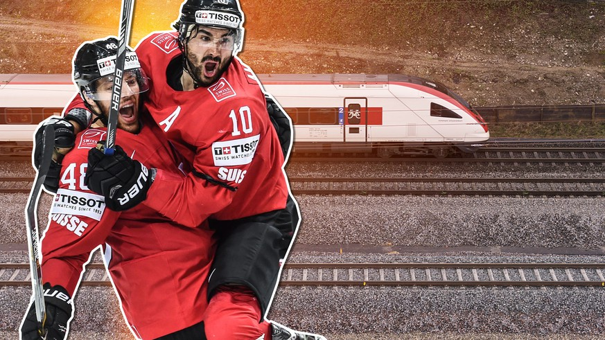 hockey-wm samt sbb-Zug