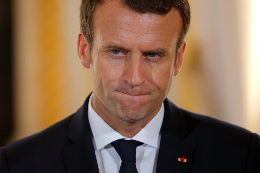 Macron stürzt in Beliebtheits-Umfrage ab