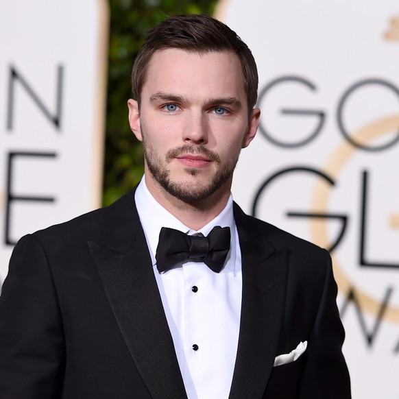 Nicholas Hoult arrives at the 73rd annual Golden Globe Awards on Sunday, Jan. 10, 2016, at the Beverly Hilton Hotel in Beverly Hills, Calif. (Photo by Jordan Strauss/Invision/AP)