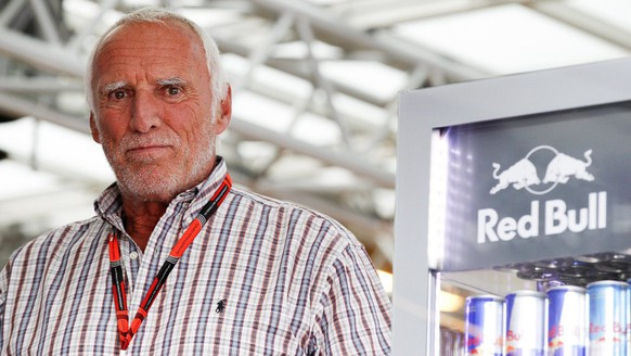 epa04808882 Red Bull CEO Dietrich Mateschitz in the paddock after the second training session for the Formula One Grand Prix of Austria in Spielberg, Austria, 19 June 2015. The 2015 Formula One Grand Prix of Austria will take place on 21 June 2015.  EPA/ERWIN SCHERIAU