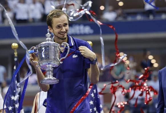 US Open 2021: DANIIL MEDWEDEW – Novak Djokovic 6:4, 6:4, 6:4.