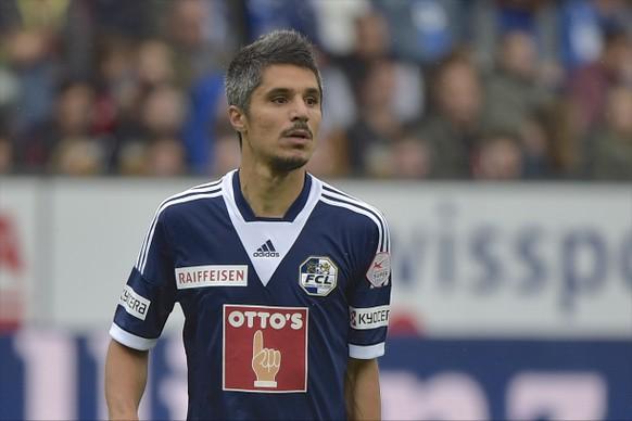 25.05.2015; Luzern; Fussball Super League -  FC Luzern - FC Zuerich; Cristian Ianu (Luzern) (Martin Meienberger/freshfocus)