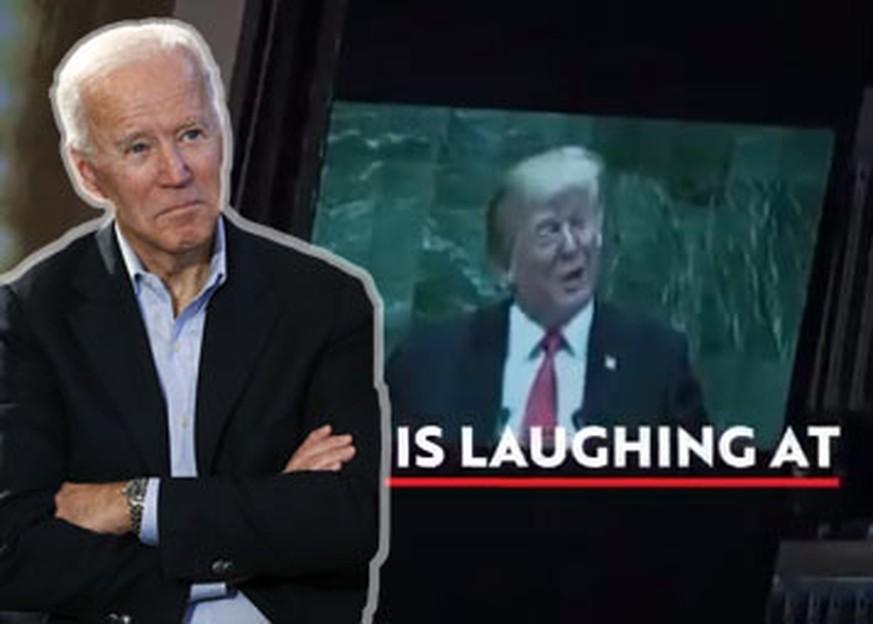 Joe Biden stellt Donald Trump mit Wahlkampf-Video bloss