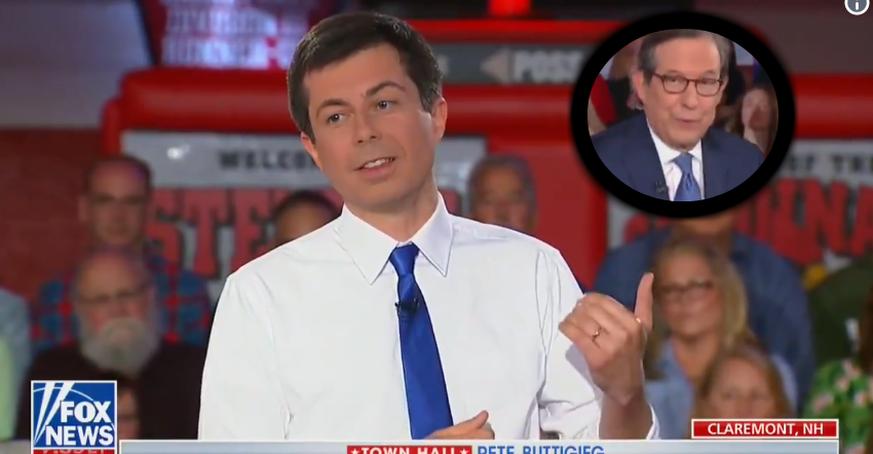 Pete Buttigieg überrascht auf Fox News und erhält Standing Ovation